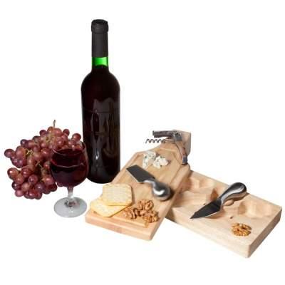 Купить Набор для вина и сыра «Эдам» с нанесением 2350р.