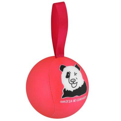 Купить Шарик-антистресс с пожеланием «Панда» с нанесением 120р.