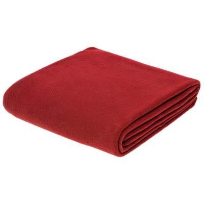 Флисовый плед Warm&Peace XL, красный