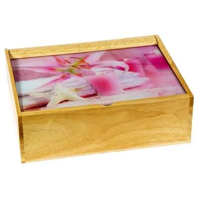 Купить Деревянная шкатулка BATH ACCESSORIES с нанесением 1220р.