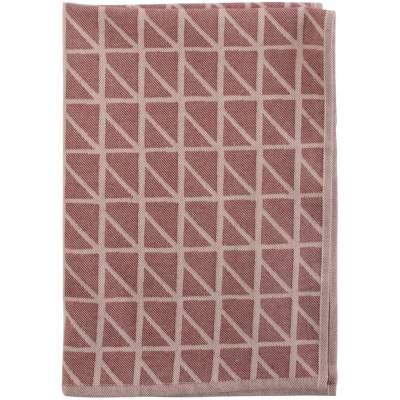 Кухонное полотенце Twist, бордовое