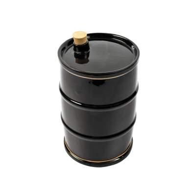 Штоф Баррель Нефти (глазурь с золотом), 1,5л