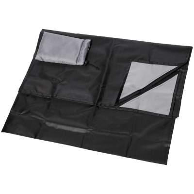 Коврик для пикника Perry, черный/серый
