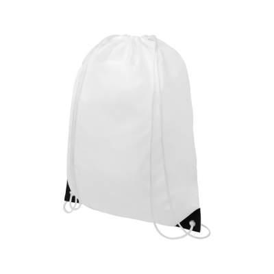 Рюкзак со шнурком Oriole, имеет цветные края, черный
