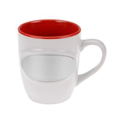 Кружка Пинт, белый/красный