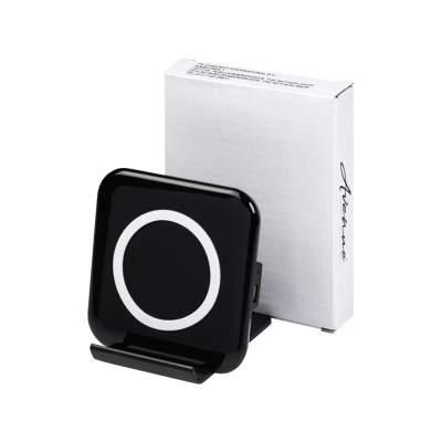 Беспроводная зарядка-подставка для смартфона Catena, черный