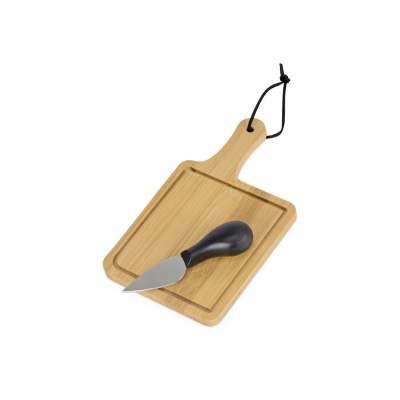 Набор для сыра из бамбуковой доски и ножа Bamboo collection Pecorino