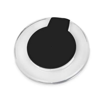 Беспроводная зарядка Pod со светодиодной подсветкой, черный