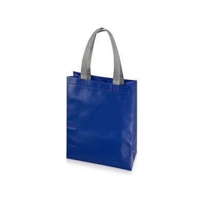 Сумка для шопинга Utility ламинированная, синий глянцевый