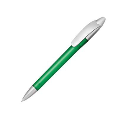 Ручка шариковая Celebrity Кейдж, зеленый/серебристый