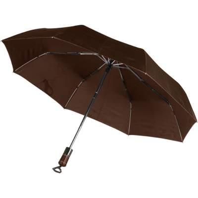 Зонт Спенсер, коричневый