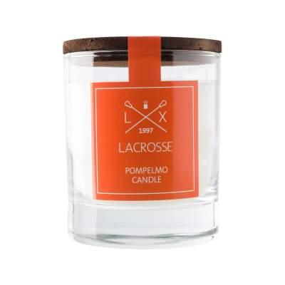 Свеча ароматическая в стекле Грейпфрут, оранжевый