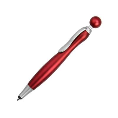 Ручка-стилус шариковая Naples, красный