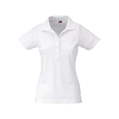 Рубашка поло First женская, белый