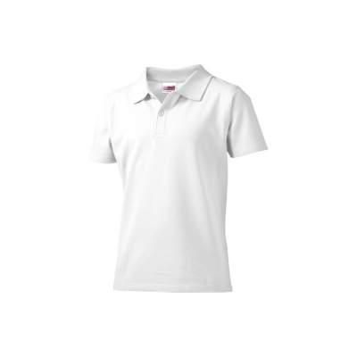 Рубашка поло First детская, белый