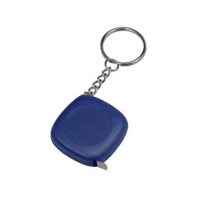 Брелок-рулетка 1м Block, синий