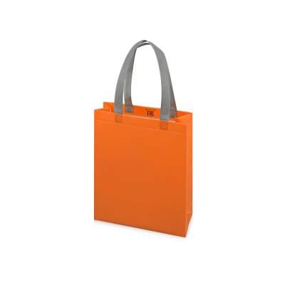 Сумка для шопинга Utility ламинированная, оранжевый матовый