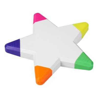 Маркер Solvig в форме звезды, белый