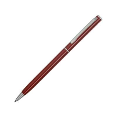 Ручка металлическая шариковая Атриум, бордовый
