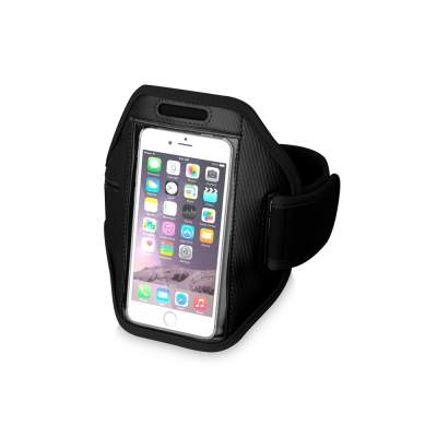 Наручный чехол Gofax для смартфонов с сенсорным экраном, черный