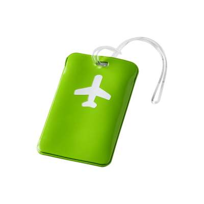 Бирка для багажа Voyage, зеленое яблоко