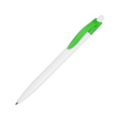 Ручка шариковая Какаду, белый/зеленое яблоко