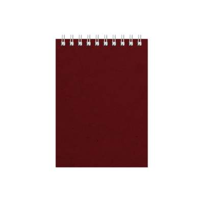 Бизнес - блокнот Альт А6 (94 х 130 мм) Office 60 л., бордовый