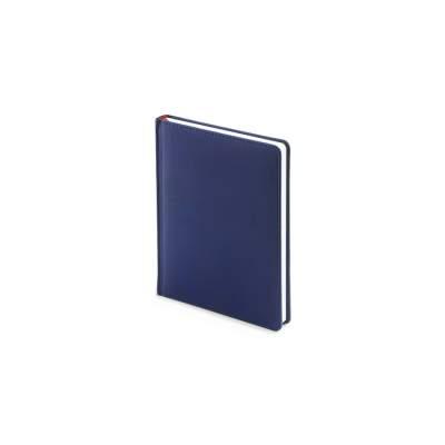 Ежедневник недатированный А6+ Velvet, темно-синий