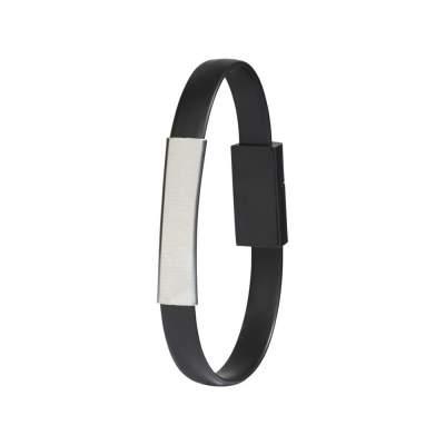 Bracelet Зарядный кабель 2-в-1, черный