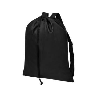 Рюкзак со шнурком и затяжками Oriole, черный