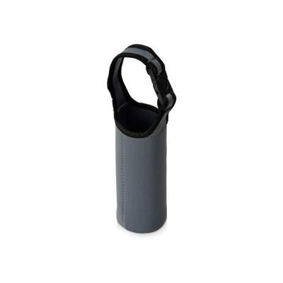 Чехол неопреновый Ferry для бутылки и термосов, серый
