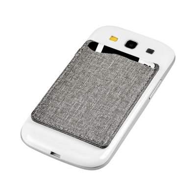 Кошелек для телефона RFID, серый