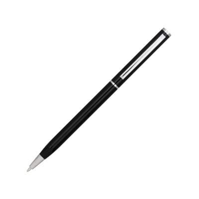 Ручка металлическая шариковая Slim, черный