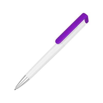 Ручка-подставка Кипер, белый/фиолетовый