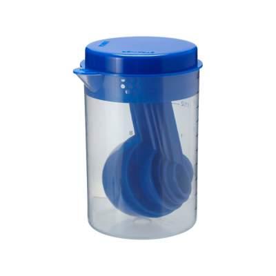 Измерительный набор из 7 предметов, синий
