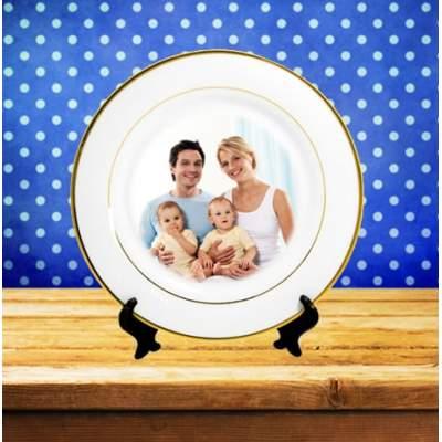 Тарелка с фотографией | Печать на сувенирной продукции