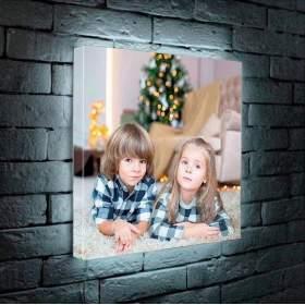 Светильник с фото на заказ