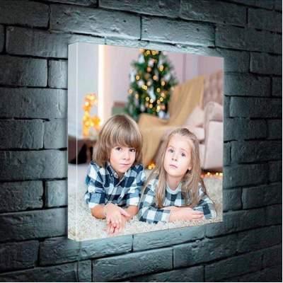 Лайтбокс с нанесением изображения | Светильник с фотографией