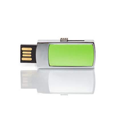 Флешка MN003 (салатовый) с чипом 8 гб