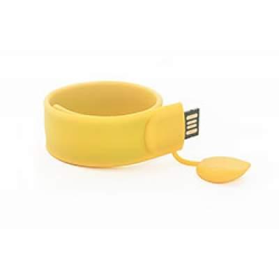 Флешка S012 (желтый) с чипом 4 гб