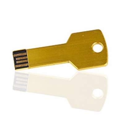 Флешка ME004 (золото) с чипом 4 гб