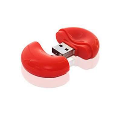 Флешка PL056 (красный) с чипом 4 гб