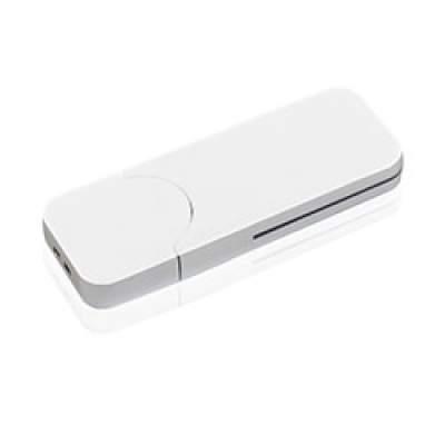 Флешка PL005 (белый) с чипом 4 гб