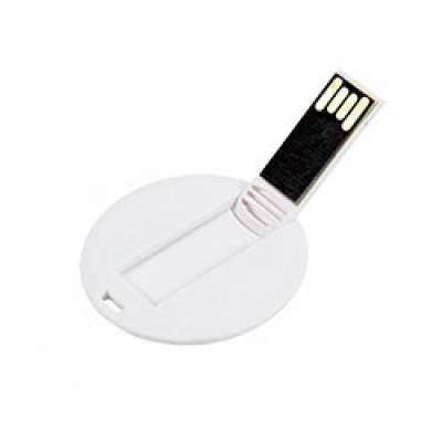 Флешка KR009 (белый) 64 гб