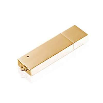 Флешка ME001 (золото) с чипом 4 гб