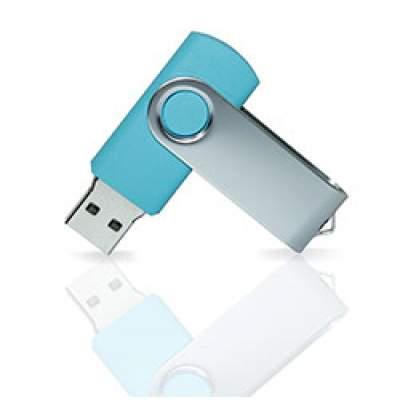 Флешка PVC001 (голубой 2190 c) с чипом 4 гб