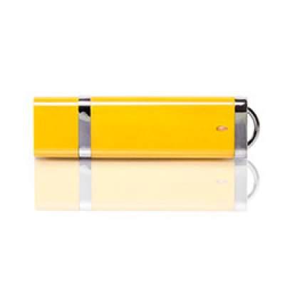 Флешка PL003 (желтый) с чипом 4 гб