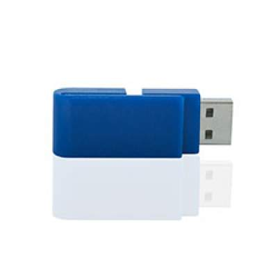 Флешка PL055 (синий) с чипом 4 гб