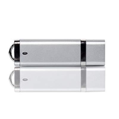 Флешка PL003 (серебро) с чипом 4 гб