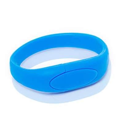 Флешка S002 (голубой) с чипом 4 гб